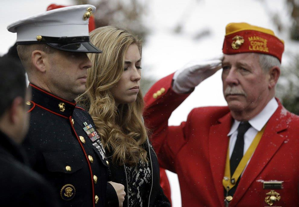 Final Military Honors to a fallen Marine